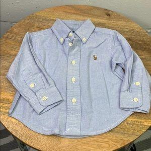 Polo Ralph Lauren baby button down shirt